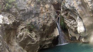 barranco rio verde barranquismo en rio verde granada clubcabraloca (10)