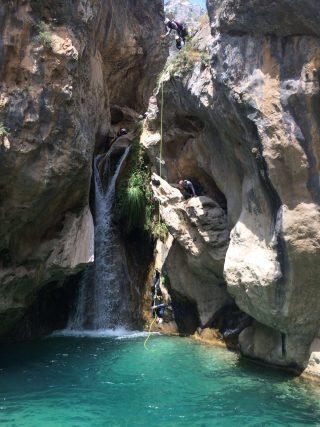 barranco rio verde, barranquismo rio verde, clubcabraloca (3)