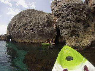 Kayak en Maro