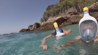 snorquel en Maro