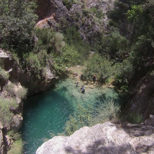 Barranquismo Río Verde Granada, Barranquismo Granada, Barranco Río verde Granada cabraloca (6)